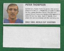 Liverpool Peter Thompson England DM70 (dam)